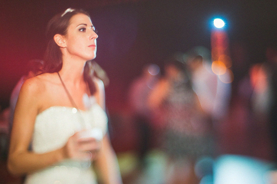 bride freelensed at reception near NIU