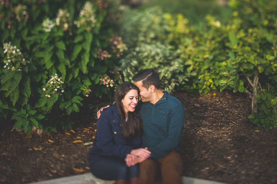 artistic engagement photos