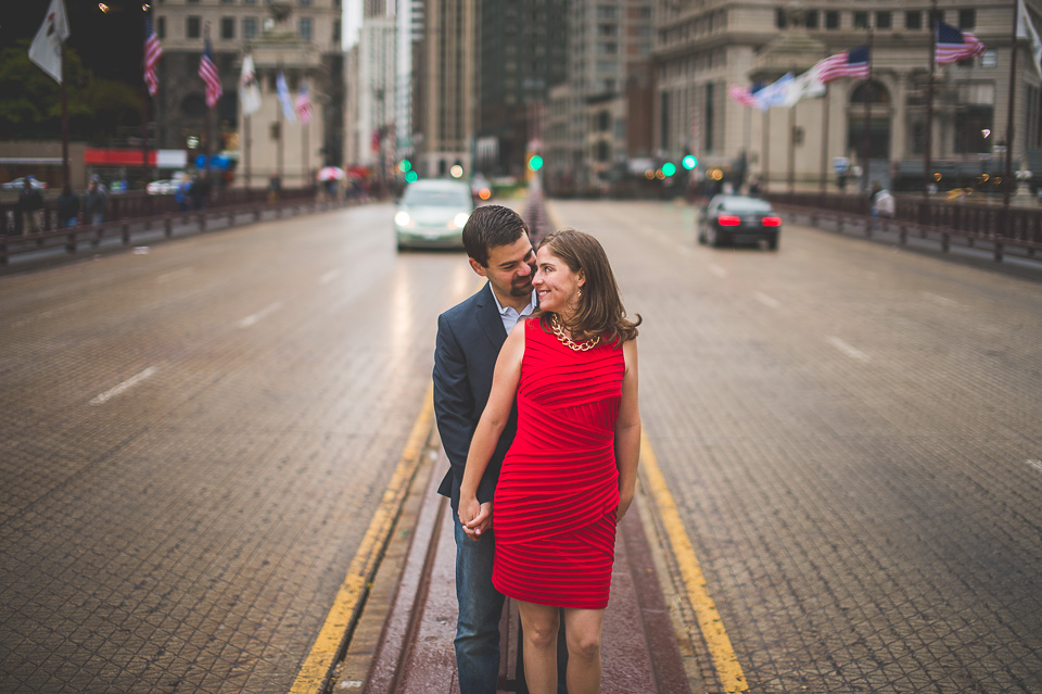 10 michigan avenue engagement photos - Fall Engagement Photos in Chicago // Mandy + Brian