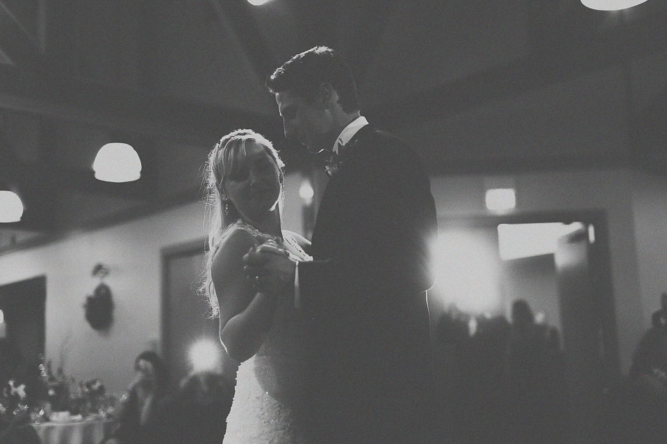 18 first dance in black and white