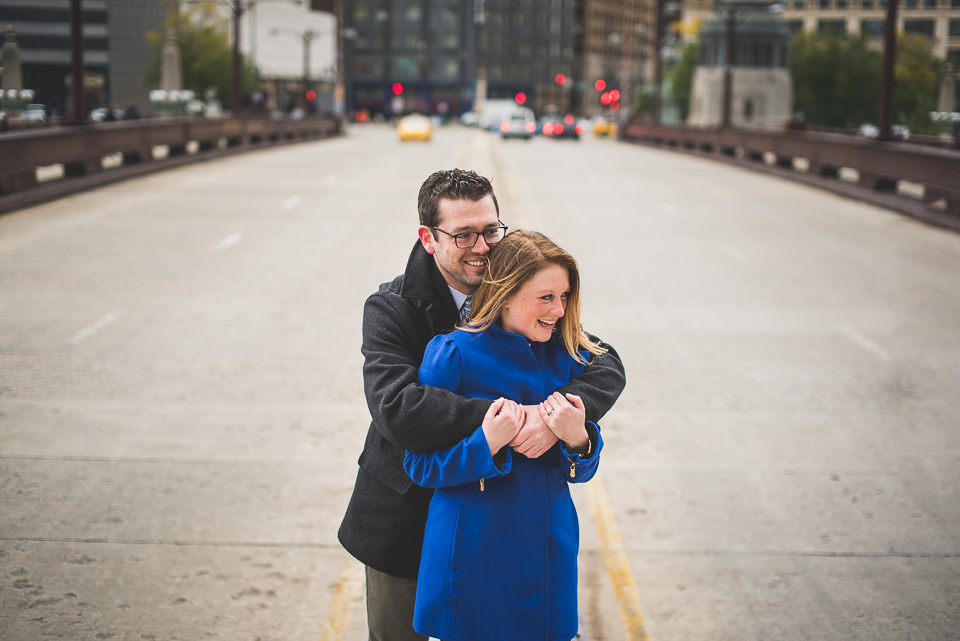 01 chicago bridges engagement - Best Engagement Photography in Chicago // Katie + Chris