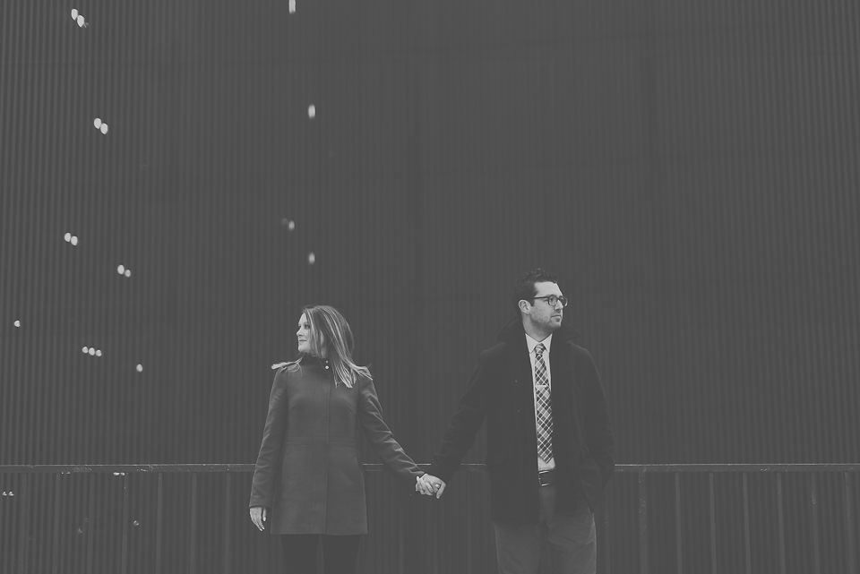02 creative black and white engagement photos - Best Engagement Photography in Chicago // Katie + Chris
