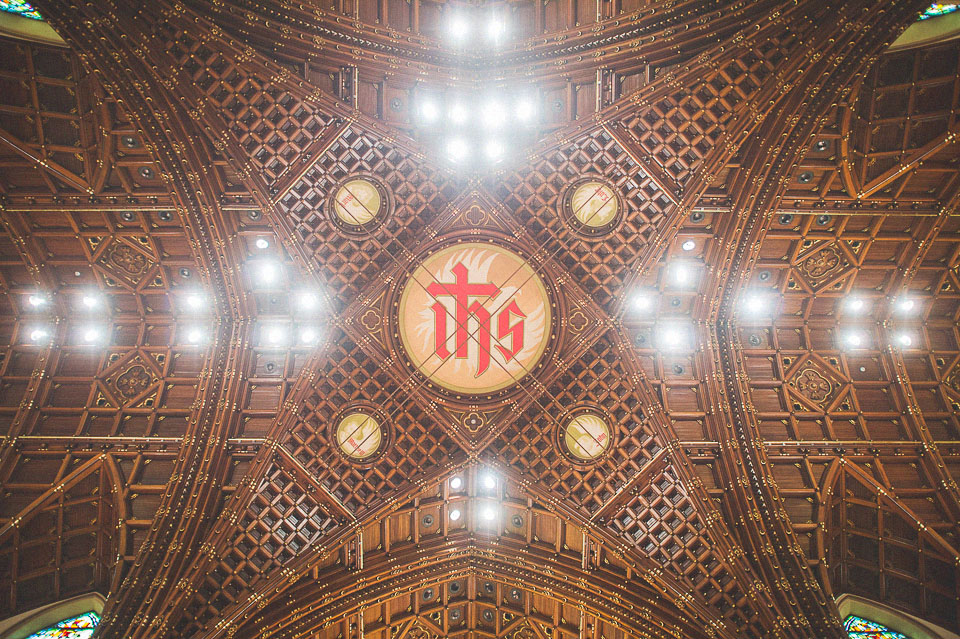16 holy name cathedral ceiling