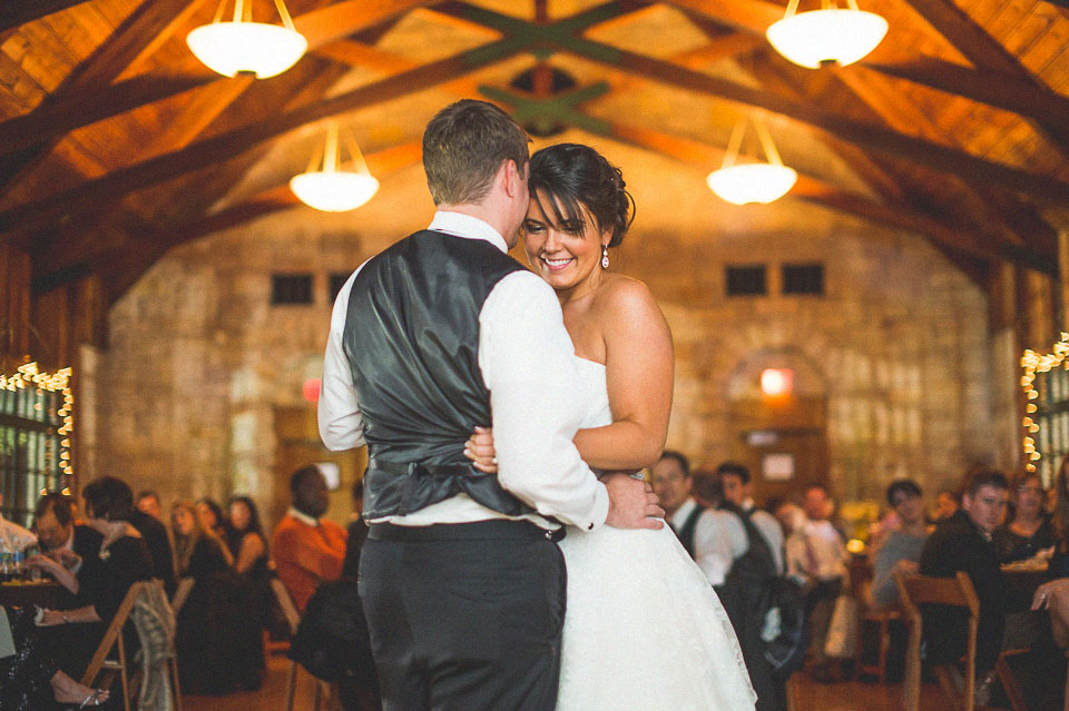 35 bride and groom first dance in chicago wedding