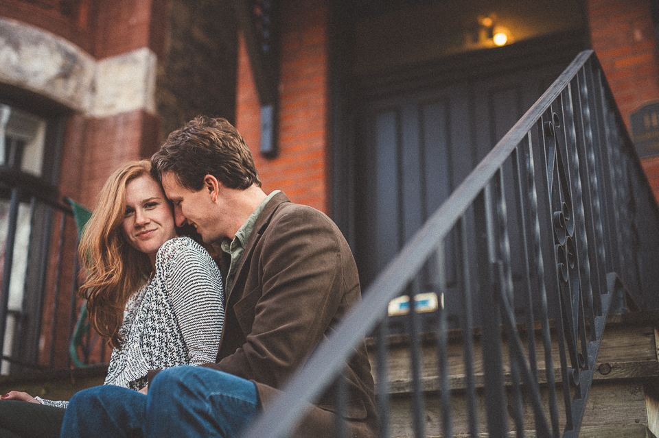 Chicago Wicker Park Engagement Photos // Geoff + Michelle