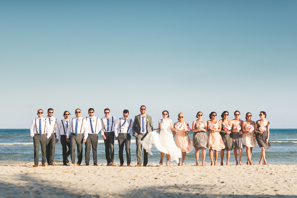 59 bridal party in mexico
