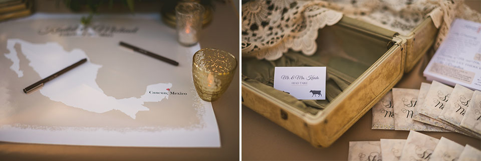 85 wedding details - Kindal + Mike's Cancun Mexico Wedding