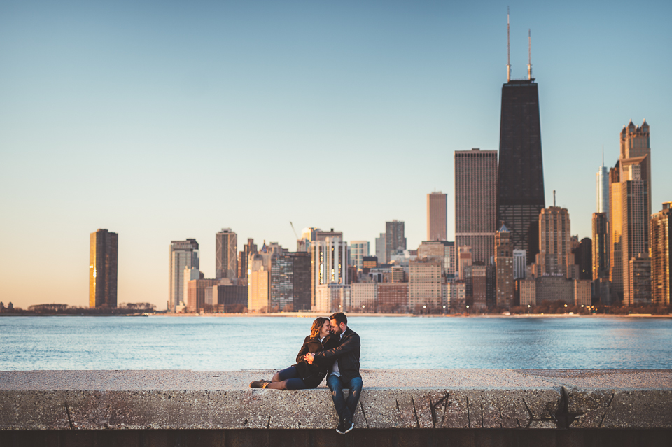 Chicago Engagement Photography // Megan + Andy
