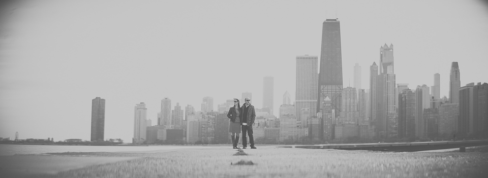 01 chicago engagement photos anamorphic lens