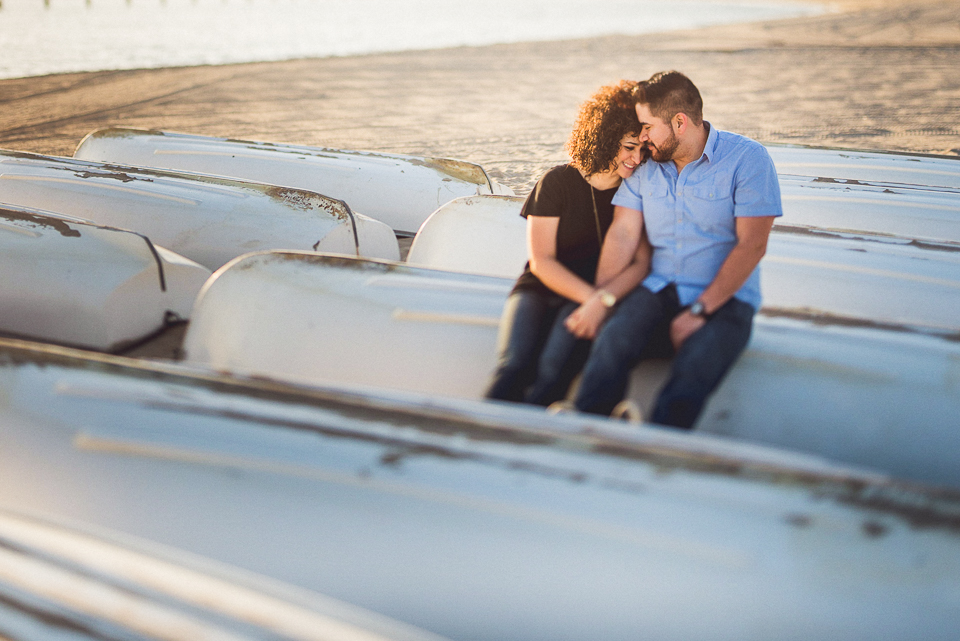 Rachael + Tony // Unique Chicago Engagement Photos