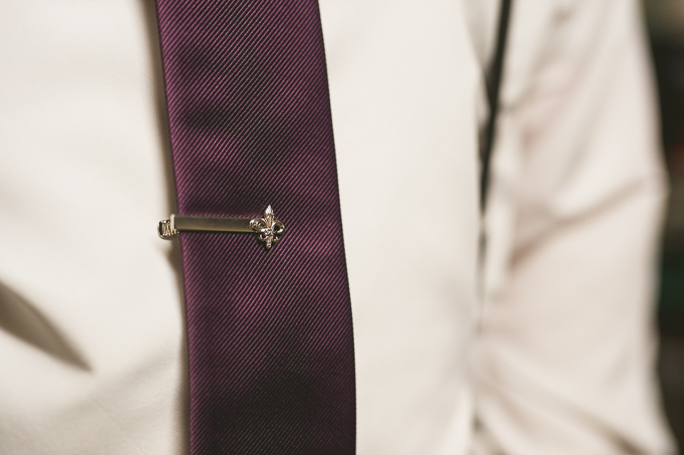 11 groom tie details - Gintare + AJ // Chicago Wedding Photography