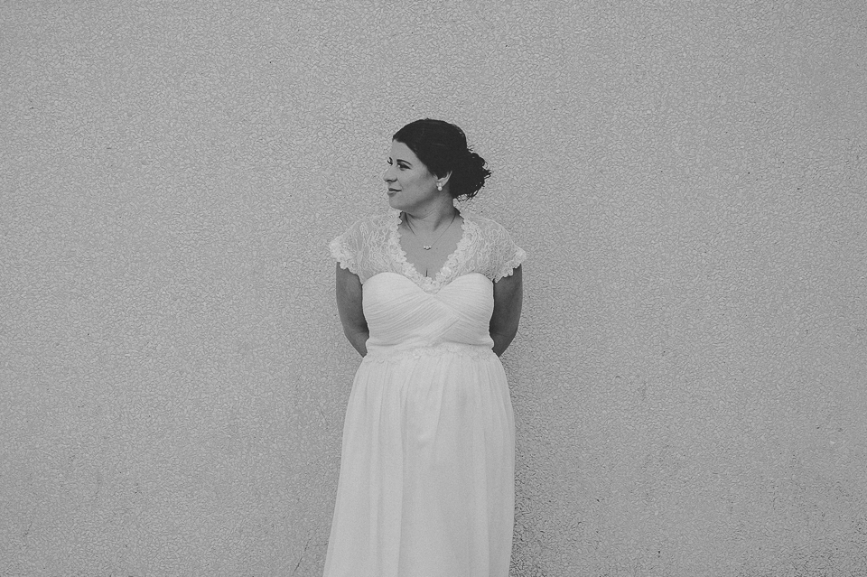 12 bridal portraits in black and white