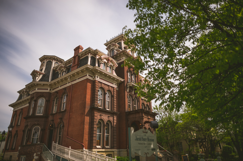 17 jacob henry mansion in joliet - Gintare + AJ // Chicago Wedding Photography
