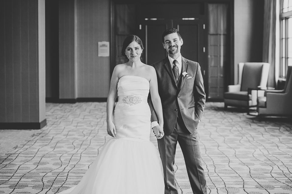 19 black and white bridal portraits - Mandy + Brian // Chicago Wedding Photographer