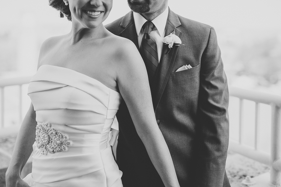 21 black and white portrait - Mandy + Brian // Chicago Wedding Photographer