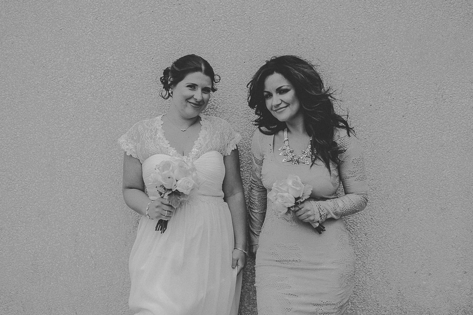 27 black and white bridesmaids photos