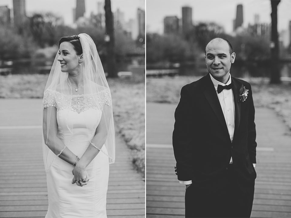 29 black and white portraits of bride and groom