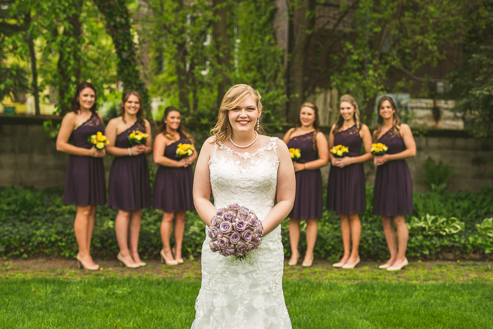 29 bridal party bridemaids - Gintare + AJ // Chicago Wedding Photography