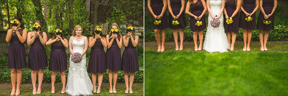 32 bridemaids - Gintare + AJ // Chicago Wedding Photography