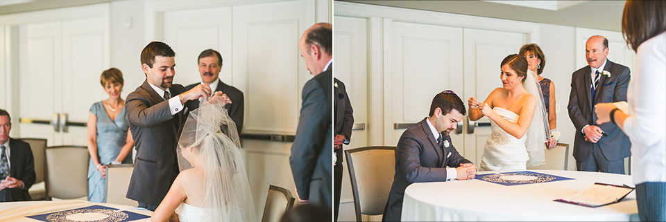 39 katubah signing in chciago - Mandy + Brian // Chicago Wedding Photographer