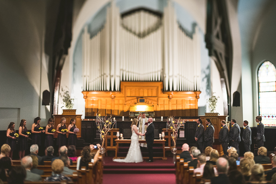 40 church wedding - Gintare + AJ // Chicago Wedding Photography
