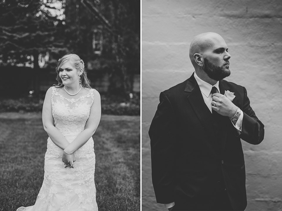 44 black and white wedding photos - Gintare + AJ // Chicago Wedding Photography