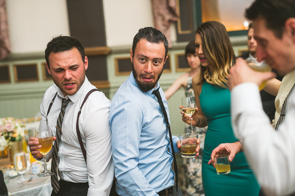47 funny faces at wedding