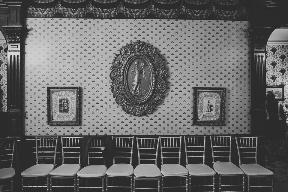 57 awesome wall - Gintare + AJ // Chicago Wedding Photography