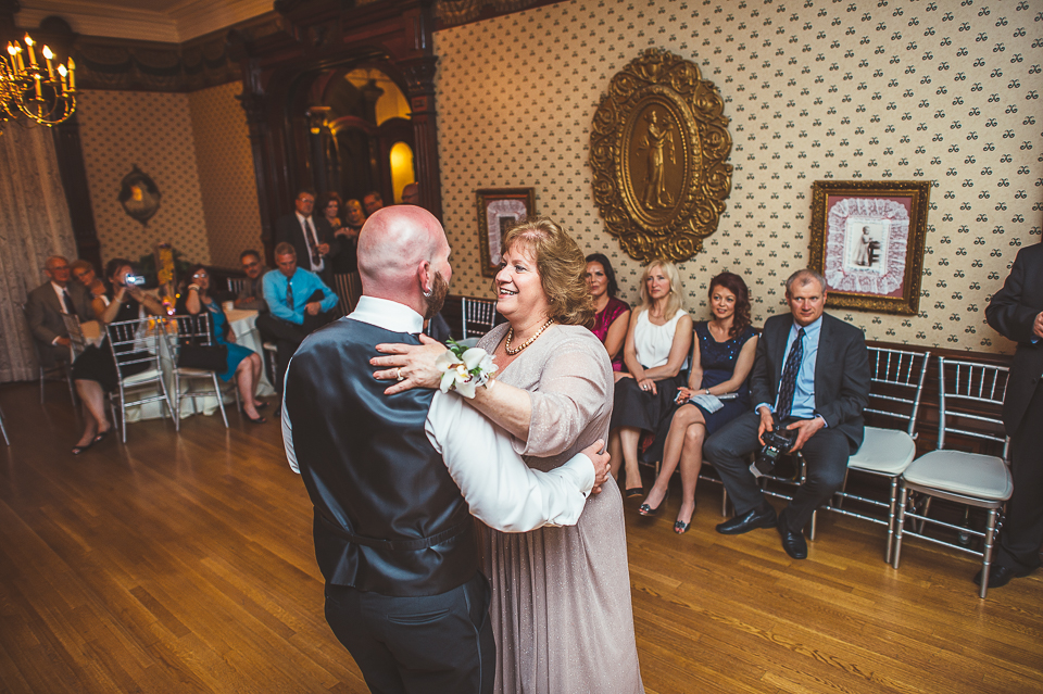 63 groom and mother dance - Gintare + AJ // Chicago Wedding Photography