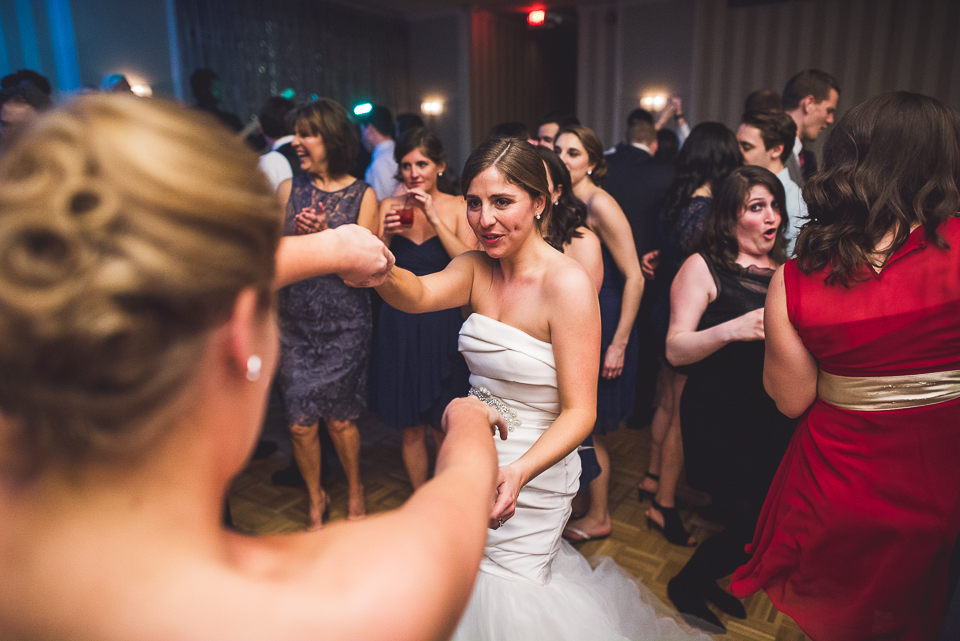 68 bride dancing - Mandy + Brian // Chicago Wedding Photographer