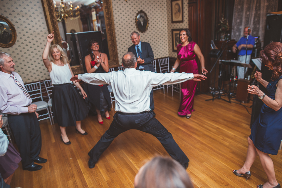 70 funky dance - Gintare + AJ // Chicago Wedding Photography
