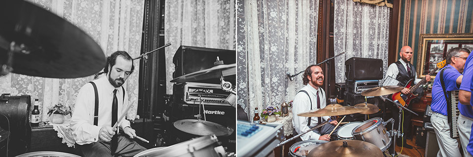 74 groom and brother play polka - Gintare + AJ // Chicago Wedding Photography