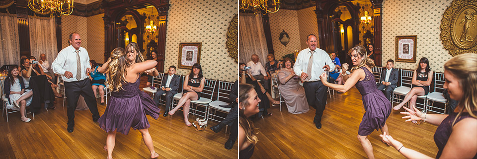 76 pretend fight at wedding - Gintare + AJ // Chicago Wedding Photography