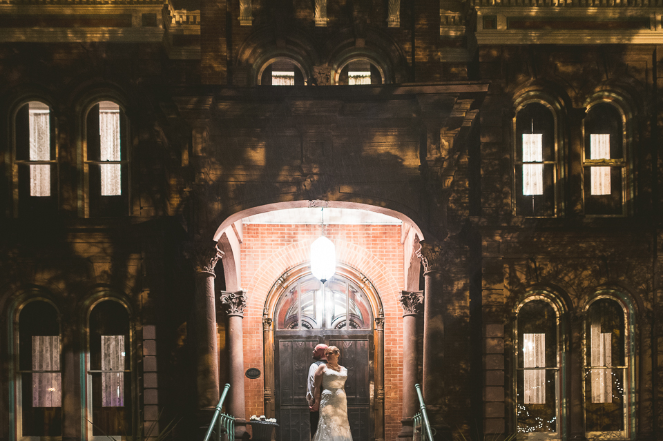 79 bridal portraits at night - Gintare + AJ // Chicago Wedding Photography