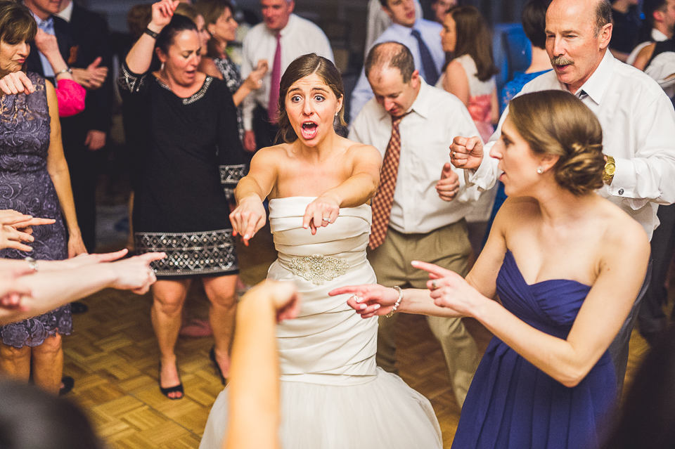 83 bride dancing - Mandy + Brian // Chicago Wedding Photographer