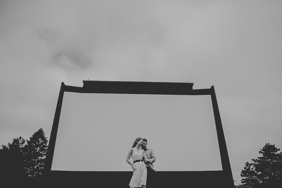 04 black and white engagement photos
