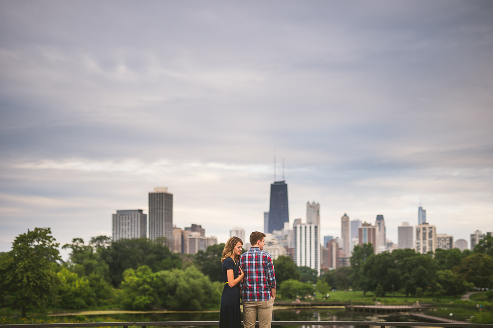 Chicago Engagement Photo Session in Lincoln Park // Katie + Pat