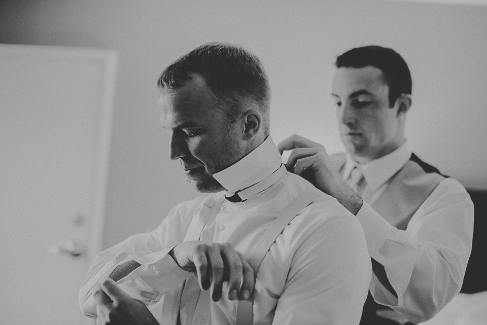 04 groom getting ready - Lyuda + Tyler // Chicago Wedding Photographers