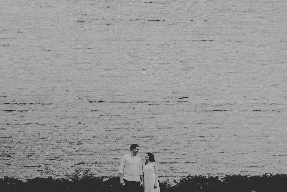 07 black and white engagement portraits