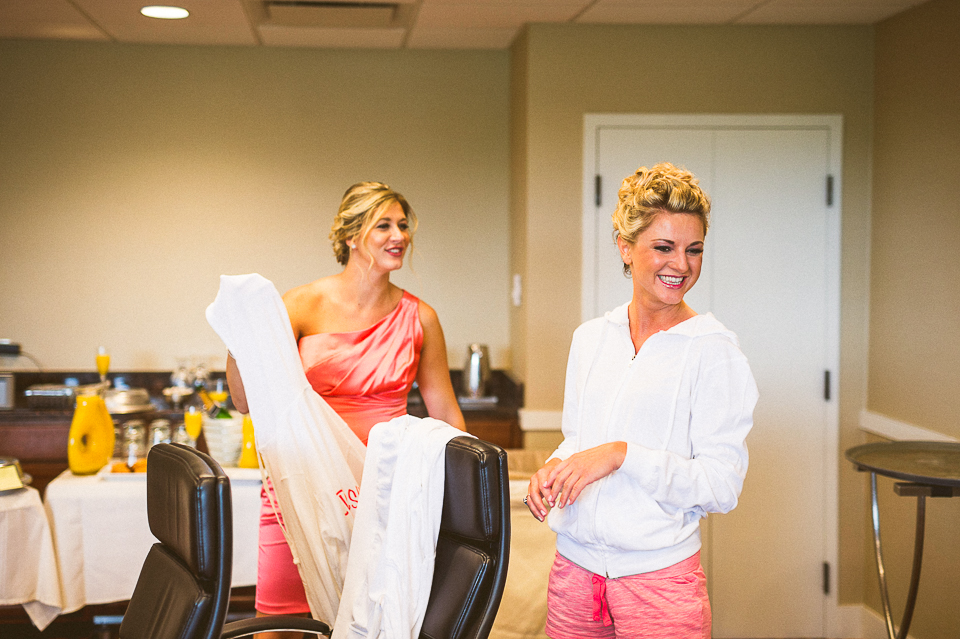 08 happy bridesmaids - Lyuda + Tyler // Chicago Wedding Photographers