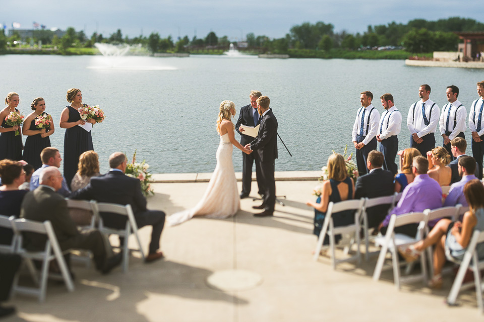 16 wedding on the lake