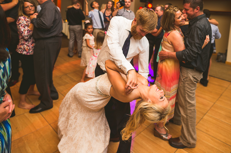 26 epic dip at wedding