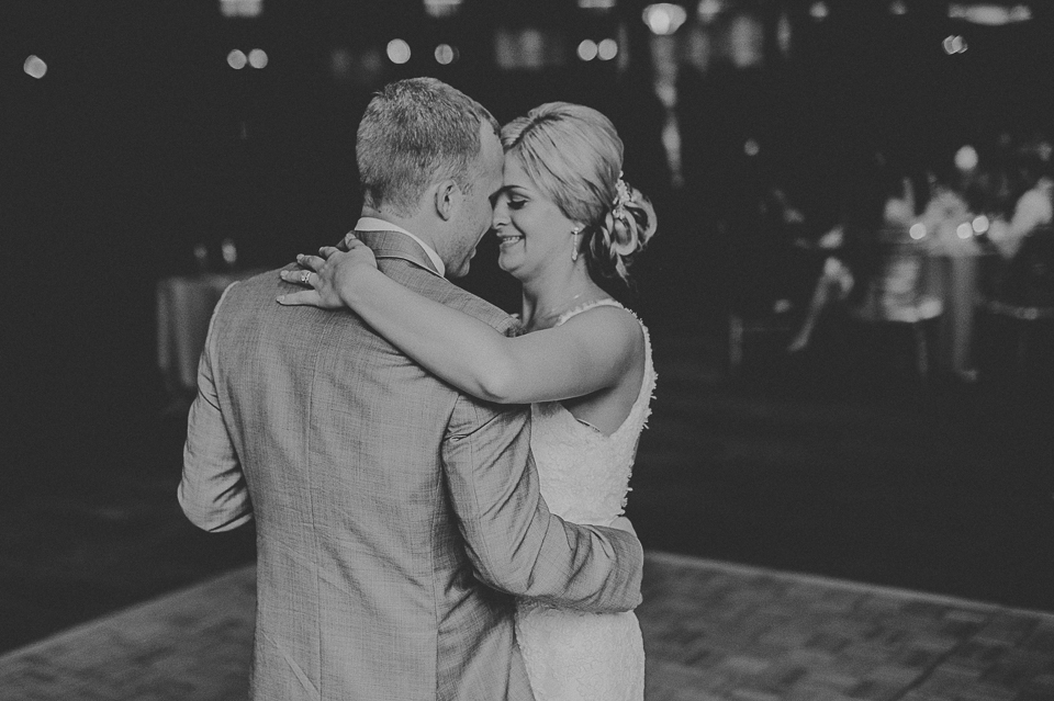 36 first dance of bride and groom - Lyuda + Tyler // Chicago Wedding Photographers