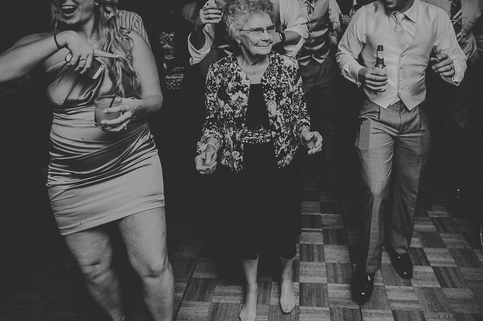 40 grandma dancing - Lyuda + Tyler // Chicago Wedding Photographers