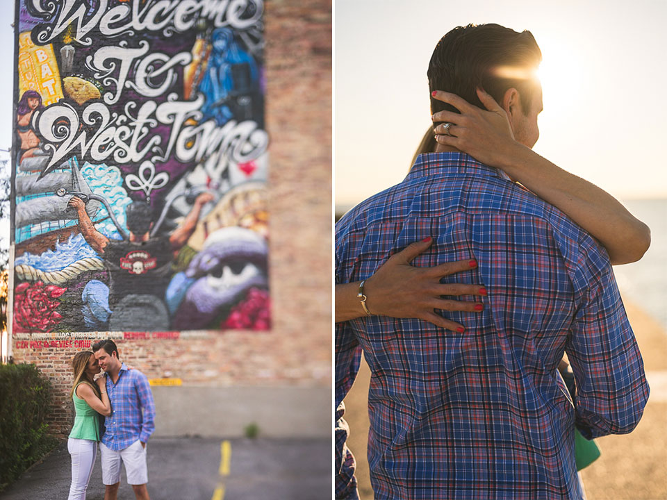 02 engagement photos in west town chicagi - Lauren + Ryan // Engagement Session in Chicago