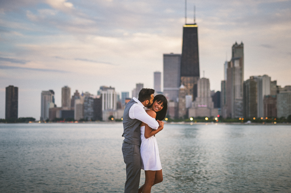 04 skyline chicago engagement photographer