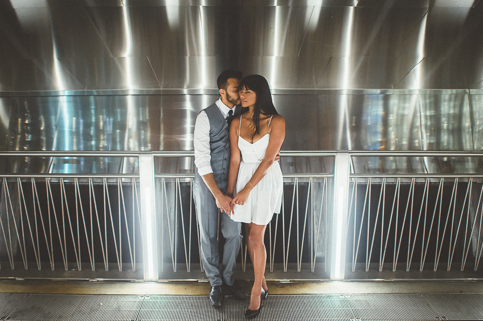 Sunset Session in Chicago // Aisha + Jawaad