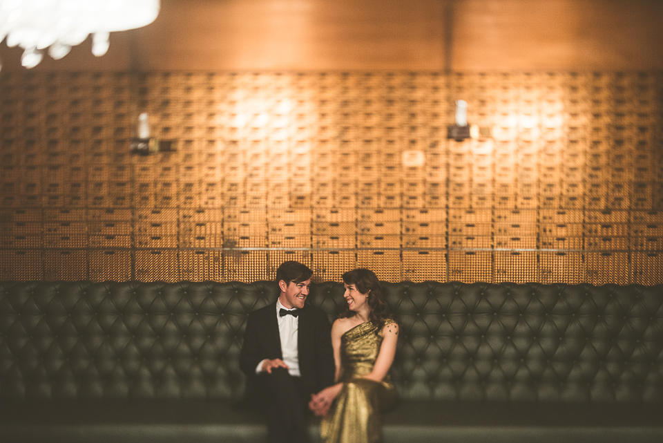 Megan + John // Chicago Vintage and Creative Engagement Photographer
