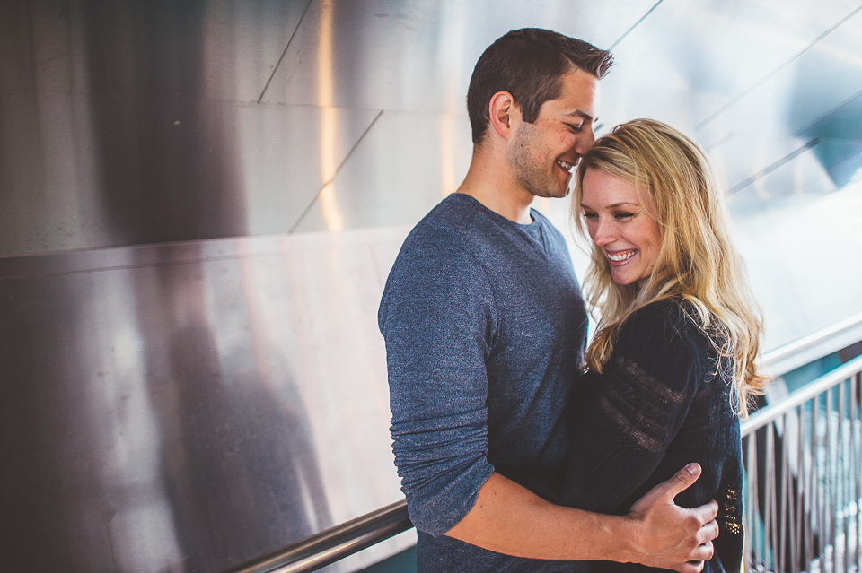 14 best engagements in chicago - Chrissy + Paul // Chicago Riverwalk Engagement Session