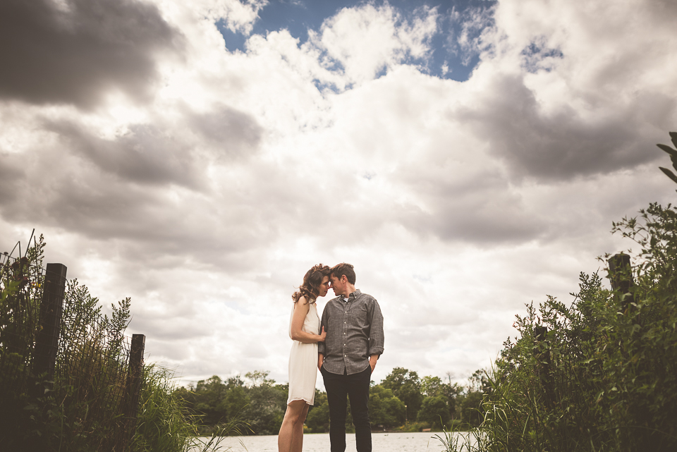 15 awesome engagement photos in chicago - Megan + John // Chicago Vintage and Creative Engagement Photographer